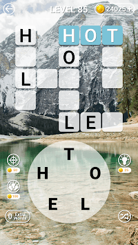 Word Link Scramble: Find the Words Game Puzzle APK screenshot 1
