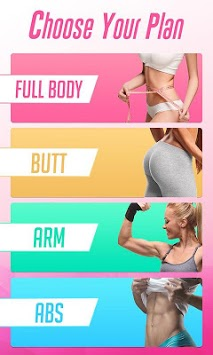 Female Fitness Lose Belly Fat - Workout For Women APK screenshot 1