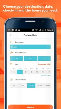 BYHOURS: Book hotel rooms by the hour APK screenshot 1