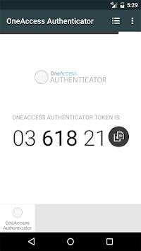 OneAccess Authenticator APK screenshot 1