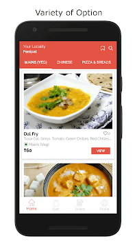 Cafster : Food Order & Delivery APK screenshot 1