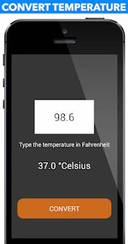Body Temperature Converter APK screenshot 1