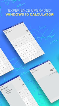 Calculator for window 10 APK screenshot 1