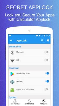 Calculator Vault App Lock : Hide Photo And Video APK screenshot 1
