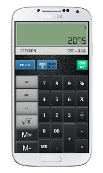 CITIZEN CALCULATOR APK screenshot 1