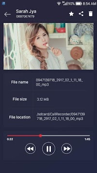 call recorder APK screenshot 1