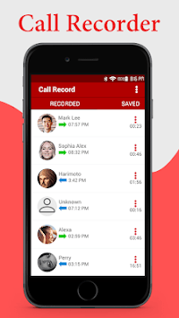 Mobile Call Recorder 2018 : Automatic APK screenshot 1