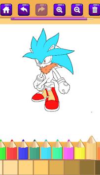 Sonic Coloring books cmz 2018 APK screenshot 1