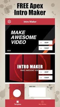 Apex Intro Maker for YouTube - make legends intro APK screenshot 1
