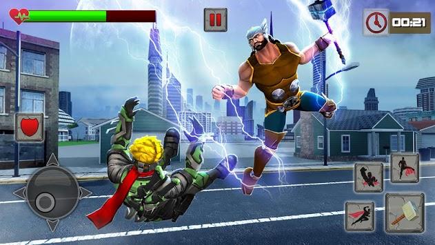 Hammer Superhero Rescue Mission 2019 APK screenshot 1