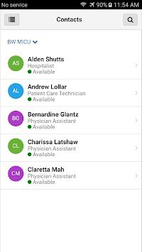 CareAware Connect Messenger APK screenshot 1