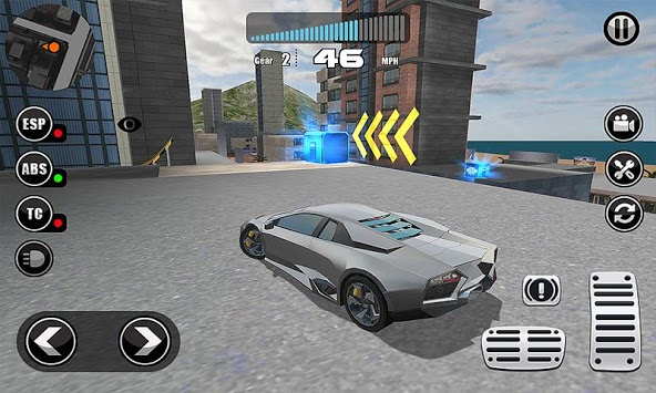 Fanatical Car Driving Simulator APK screenshot 1