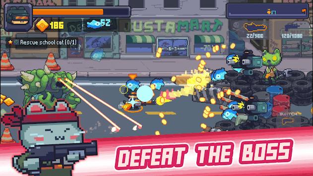 Cat Gunner: Super Force APK screenshot 1