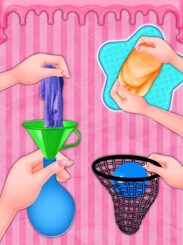 DIY Stress Ball Slime Maker Squishy Toy APK screenshot 1