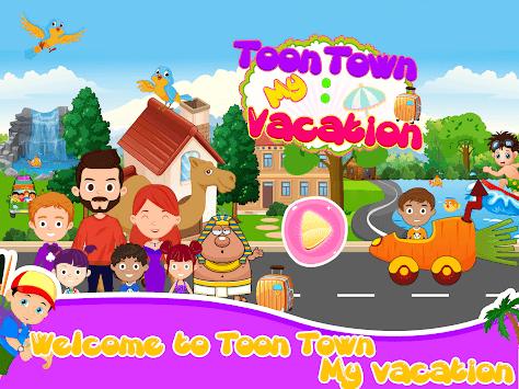 Toon Town: Vacation APK screenshot 1