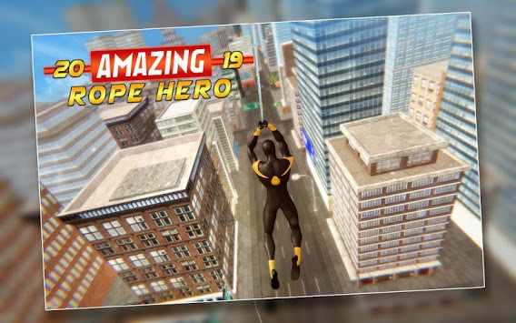 Amazing Rope Hero 2019 APK screenshot 1