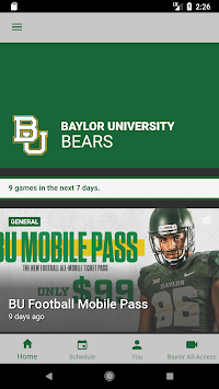 Baylor Bears APK screenshot 1