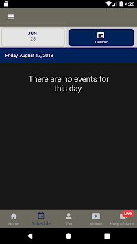 Navy Sports APK screenshot 1