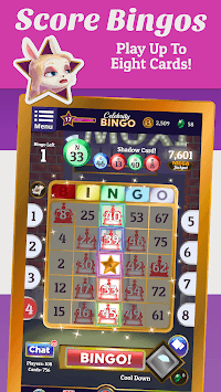 Celebrity Bingo - Free Multiplayer Bingo APK screenshot 1