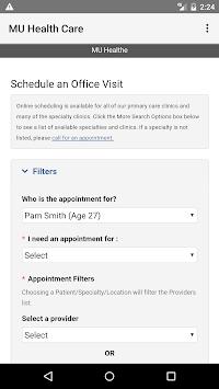MU Health Care APK screenshot 1