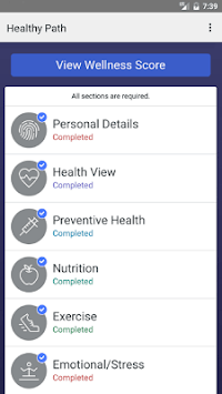 Healthy Path APK screenshot 1