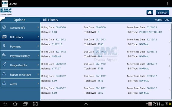CFEMC APK screenshot 1