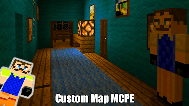 Map Of Hi Neighbor For MCPE Guides APK screenshot 1