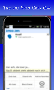 Advise For Guide Imo video calls & text chat APK screenshot 1