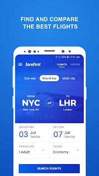 Cheap Flights - FareFirst APK screenshot 1
