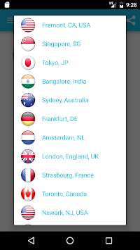 Super VPN - Best Free Proxy APK screenshot 1