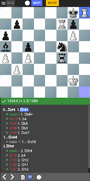 Chess tempo - Train chess tactics, Play online APK screenshot 1