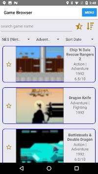 Retro Game Center (enjoy classic/emulation games) APK screenshot 1
