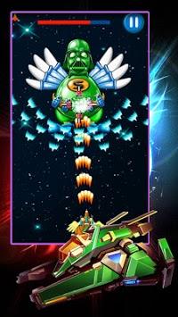 Chicken Shooter: Galaxy Attack APK screenshot 1