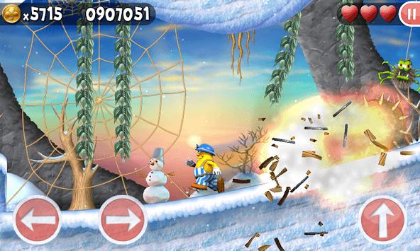 Incredible Jack: Jumping & Running APK screenshot 1