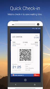 China Airlines App APK screenshot 1