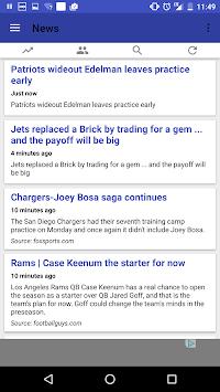 Fantasy Football News APK screenshot 1