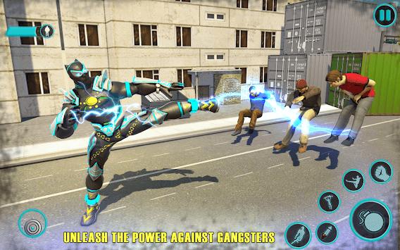 Flying Panther Speed Hero Robot Games APK screenshot 1