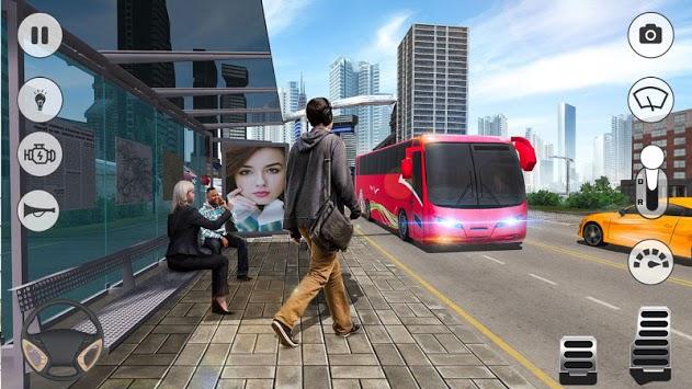 City Coach Bus Simulator 2019 APK screenshot 1