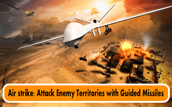 City Drone Attack-Rescue Mission & Flight Game APK screenshot 1
