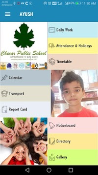 Chinar Public School APK screenshot 1