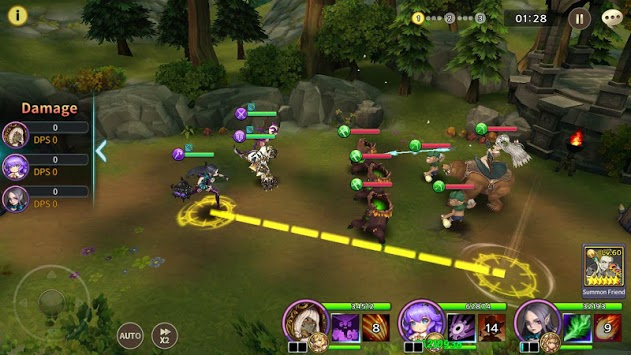 Soul Seeker: Six Knights – Strategy Action RPG APK screenshot 1