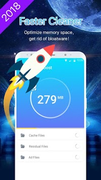 Speed Cleaner-Faster Cleaner & Junk Cache Removed APK screenshot 1