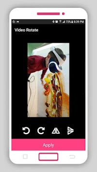 Smart Video Rotate and Flip - Rotator and flipper APK screenshot 1