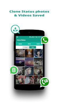 Status Saver, Status Downloader - Status Clone APK screenshot 1