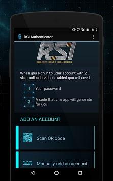 Star Citizen Authenticator APK screenshot 1
