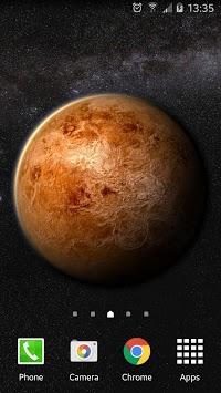 Venus in HD Gyro 3D Free APK screenshot 1