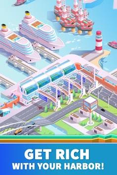 Idle Harbor Tycoon - Incremental Clicker Game APK screenshot 1
