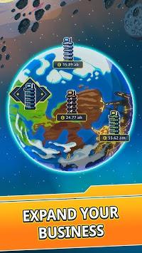 Idle Space Tycoon - Incremental Cash Game APK screenshot 1