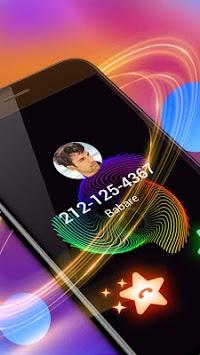 Colorful Lines Caller  Screen APK screenshot 1