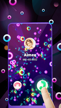 Color Call Screen - Phone Caller Screen Themes APK screenshot 1